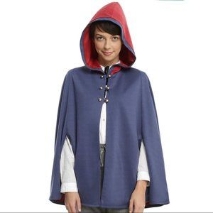 Over the Garden Wall Wirt Hooded Cape Blue Red